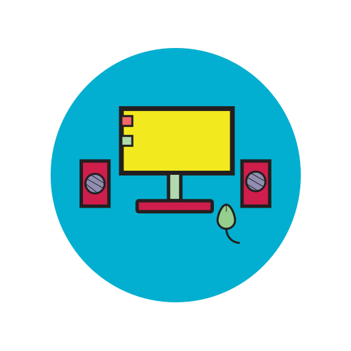 computer, laptop, my computer, pc, personal computer, screen icon