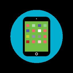 ipad, ipad mini, screen, tablet icon