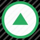 arrow, navigation, top, up icon