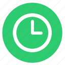 clocks, time, timer, watch icon