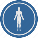 back, body, fit, fitness, lady, round, slim icon