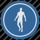 body, fit, fitness, man, round, slim icon