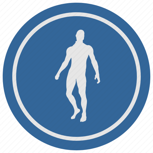 body, fit, fitness, man, round, slim icon