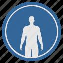 body, figure, fit, fitness, man, slim, sport icon