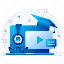 blogger, influencer, video, vlogger, youtuber icon