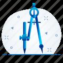 creative, design, drawing, geomatry, geometry, tool, tools icon
