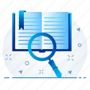 content, find, search, view, zoom icon