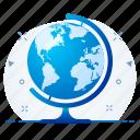 global, globe, international, web, world icon