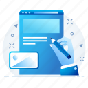 content, document, page, web icon