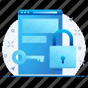 lock, webpage, password, safety, website