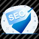 marketing, seo, tag icon
