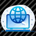 browser, internet, network, web, website icon