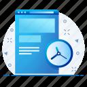web, duration, time, webpage