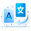 convert, converter, development, language, programming icon