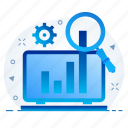 analysis, analytic, analytics, diagram, seo, statistics icon