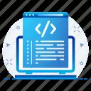 code, page, technology, programming, coding