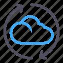 transfer, loading, exchange, cloud, software