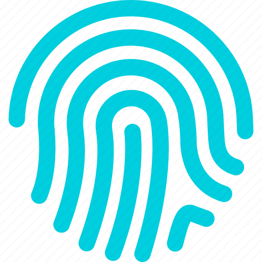 fingerprint, safety, scan, security icon