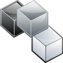 boxes, modules icon