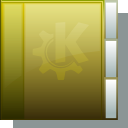 folder, gold