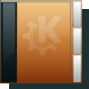 folder, orange