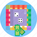 casino, board, monopoly, games, game, business icon