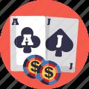 board, games, gambling, casino, blackjack icon