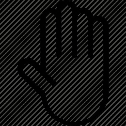 anatomy, body, hand, human, organ, palm icon