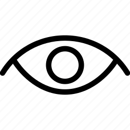 creative, eye, grid, line, see, shape, view icon