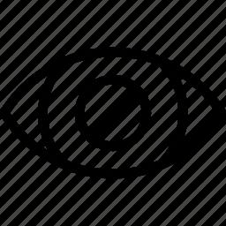 blind, cant-see, creative, eye, grid, organ, shape icon