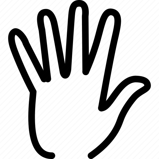 creative, finger, fingers, gesture, grid, hand, line, shape, touch icon