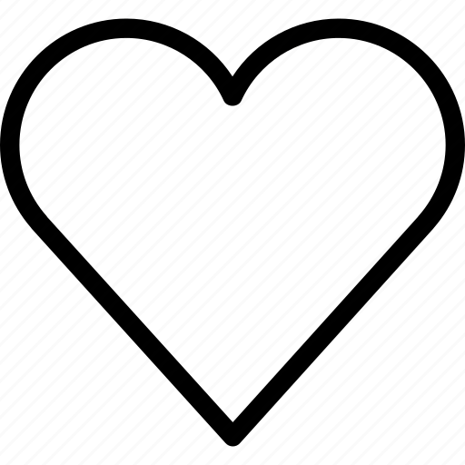 creative, favourite, grid, heart, heart-beat, line, love, shape, valentine, valentine's day icon