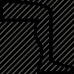 creative, foot, grid, leg, line, run, shape icon