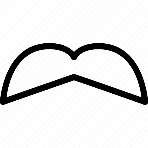 creative, grid, human, line, male, man, men, moustache, mustache, people, person, shape icon