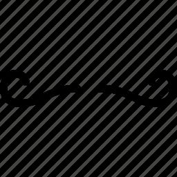creative, grid, human, line, male, man, men, moustache, mustache, person, shape icon