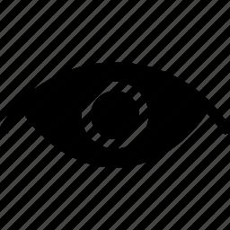 creative, eye, grid, see, shape, view icon