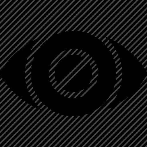 blind, cant-see, creative, eye, grid, human, organ, shape icon