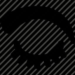 creative, eye, eyebrow, eyebrows, grid, shape icon