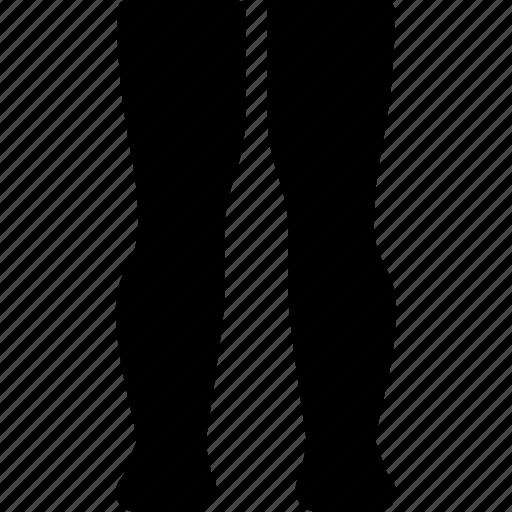 creative, foot, grid, knee, leg, legs, run, shape icon