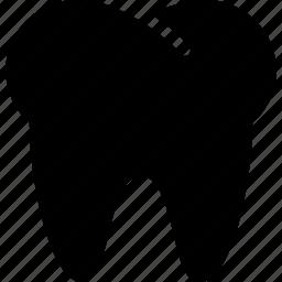 creative, grid, health, shape, teeth, thirty-two-teeth, tooth icon