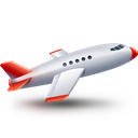 air, airplane, business, fly, plane, transport icon icon