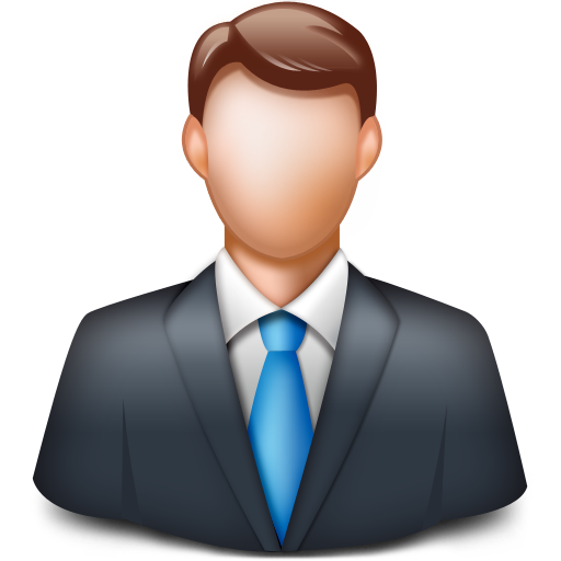 businessman, client, man, manager, person icon