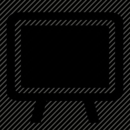 blackboard, chalkboard, classroom, education, writing board icon