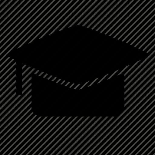 Cap, education, graduation, hat, student, university icon - Download on Iconfinder