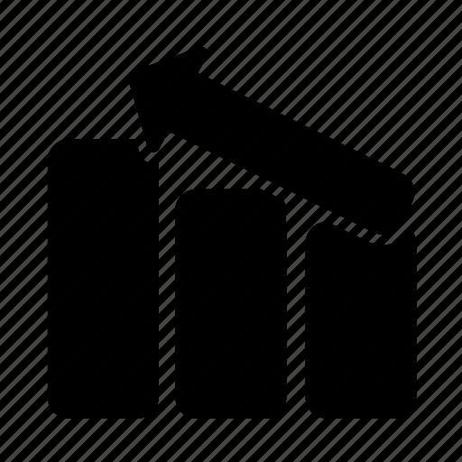bar, chart, diagram, finance, financial, graph, statistics icon