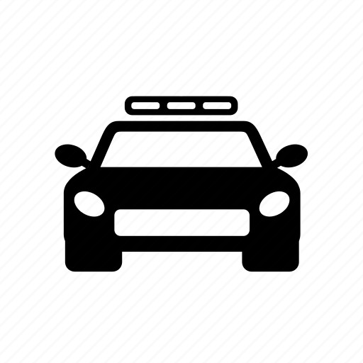 car, law, police, police vehicle, vehicle icon