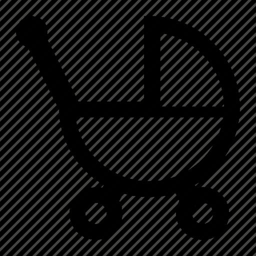 Baby, care, newborn, stroller icon - Download on Iconfinder