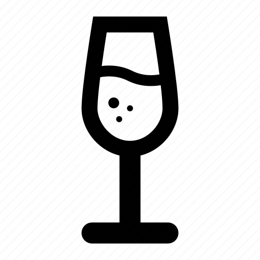 Alcohol, champagne, drink, glass, wine icon - Download on Iconfinder