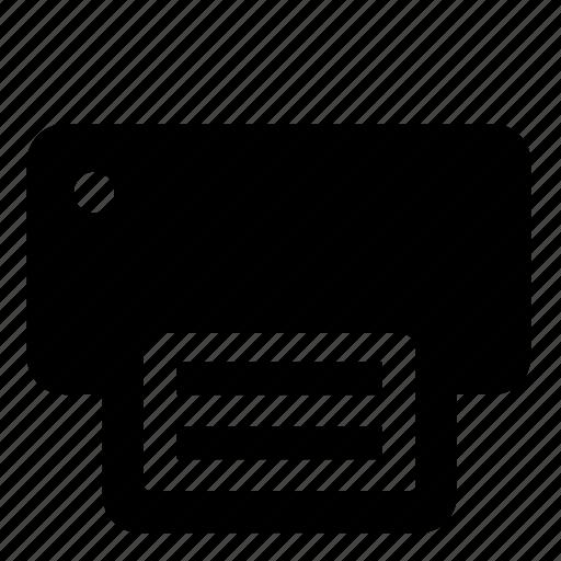 output device, print, printer, printing icon