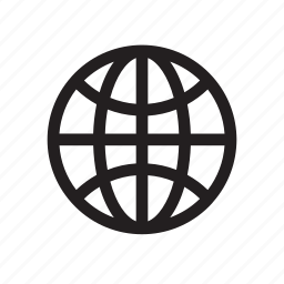 bold, earth, global, globe icon